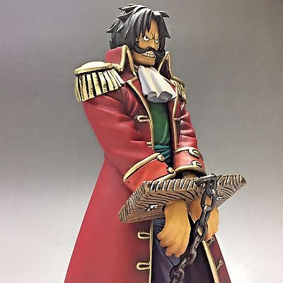 USED One Piece GOL D. ROGER DX DXF Figure NO BOX Japan Auth Tracking D