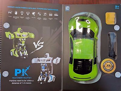 Transformer Autobot Decepticon Robot Car Remote Control Action Figure Toy KIDS