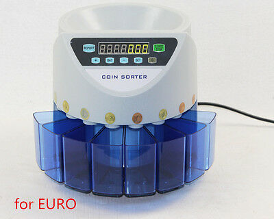 Electronic coin sorter XD-9002 coin counting machine for most of countries