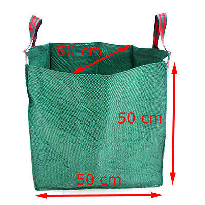 Strong Garden Bag Waste Refuse Rubbish Grass Sack Reusable Heavy Duty Large Bags