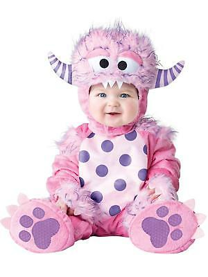 Baby Girls Halloween Costume Lil Monster Costume Toddler Pink Large 18 24 Months