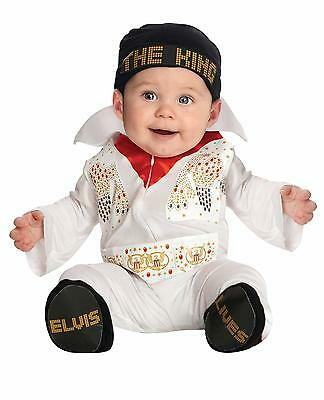 Baby Halloween Costume Elvis Romper Costume Outfit Newborn Infant 0 6 Months
