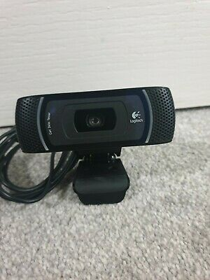 Logitech B910 HD Webcam USB 2.0 1280 x 720 Video Resolution
