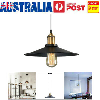Industrial Retro Vintage Metal Pendant Lighting Shade Ceiling Light Lamp Shade