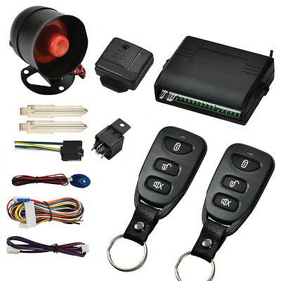 Car Vehicle Protection Alarm Security System Smart Door Lock Entry System