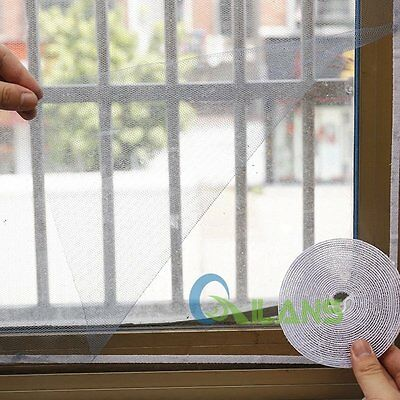 Magic Against Mosquito Mesh Window Curtain Snap Insect Screen Protector Net【AU】