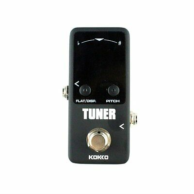 Pedal Tuner Guitar Bass Violin Stringed Instruments Tuner Effect Device AU