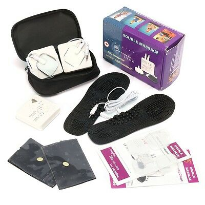 Portable TENS DR-HO'S Dual Muscle Therapy System Nerve Stimulator Back Knee Foot