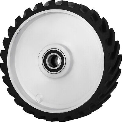 """12"""" Grinder Sander Serrated Contact Rubber Wheel Unopened Dynamically Balanced"""