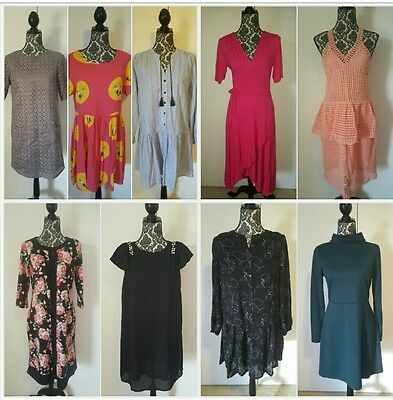 Bulk Lot - 9 x Dresses - Size 10 - Tweety, Black, Pink, Wrap, Thurley - Some NWT