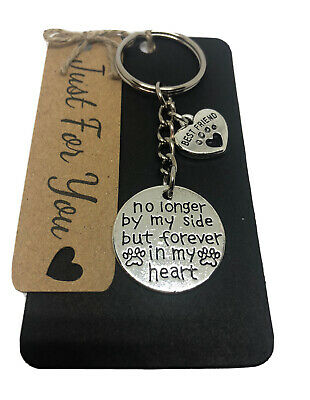 Loss Of A Dog/ Best Friend Memorial Keyring Keepsake Gift Idea