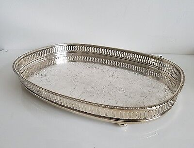 Antique Silverplated Tray