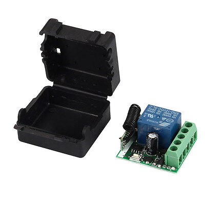433Mhz Wireless Remote Control Switch DC 12V 10A 1CH relay Receiver Module