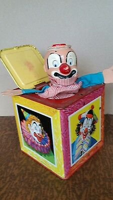 Vintage Toy Jack-In-The-Box, Mattel Incorporated, 1953