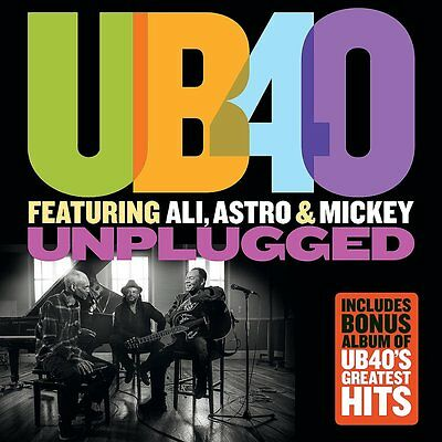 UB40 feat. Ali, Astro & Mickey - Unplugged (2016) NEW UNPLAYED 2CDs inc BEST OF