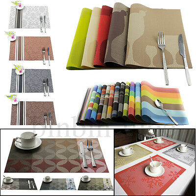 Modern Table Dinning Placemat Bowl Wine Cup Coaster Dish Mat Home Kitchen Decor