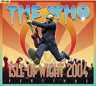The Who - Isle of Wight Festival 2004 2CDs + DVD NEW UNPLAYED Album