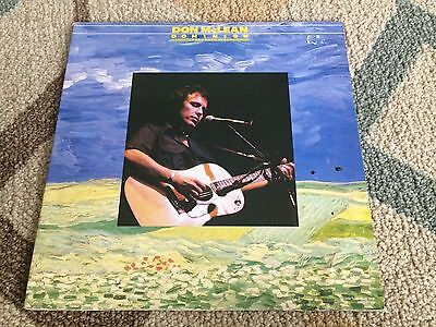 Don McLean Dominion Recorded Live 2 LP set (1982) IMPORT Holland VG++