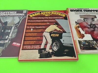 Petersens Manuals : Lot of 3 / Clutches Transmissions Engine Swapping Basic No 3