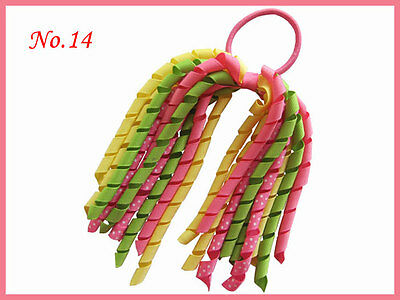 36 BLESSING Good Girl Corker Ponytail 60 No.+ Streamers Bow 96 No. Elastic Clip