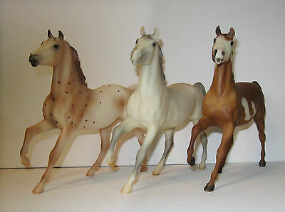 Lot of 3 Breyer classic Black Beauties, 637,62041, 490296