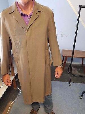 Vintage Burberry Trench / Overcoat suit 46 - 48 inch chest