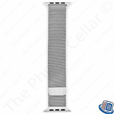 OEM Genuine Apple Milanese Loop for Apple Watch 38mm MJ5E2ZM/A Stainless Steel