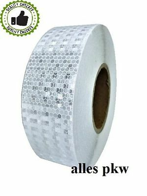 3M X 5 Cm High Intensity Strong Foil Intensive Reflective Reflex Tape White