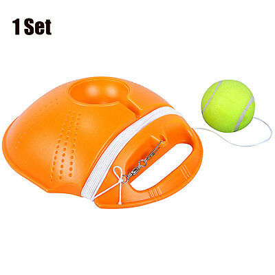 Tennis Ball's Back Base Set Exercise Ball Rebound Single Practice Training Tool