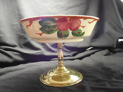 Franciscan Ware Apple Pattern Footed Nut Dish Compote