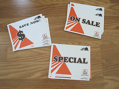 Agco Sale Point of Purchase Cards White Equipment Allis Chalmers