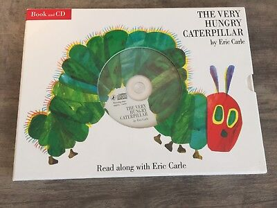 The Very Hungry Caterpillar Book And CD Read Along With Eric Carle