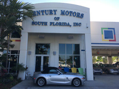 2003 BMW Z4 2.5i Convertible 2-Door NIADA CERTIFIED WARRANTY LOW MILES AUTO CONV BMW LOW MILES.