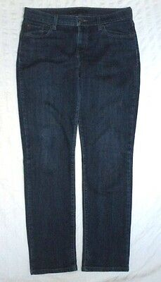 Levi's Mid Rise Skinny Stretch Blue Jeans Womens Size 10