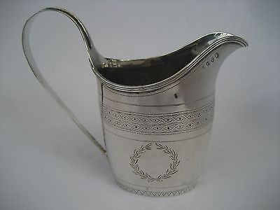 George Iii Newcastle Solid Silver Milk/cream Jug