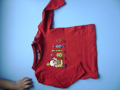 T-shirt manches longues BUMBA taille 74TBE