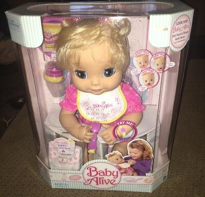 2006 Baby Alive Doll New In Box