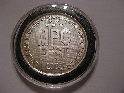 Military Payment Certificate Fest Mpc Allied Port Clinton Ohio Silver 2005 Coin
