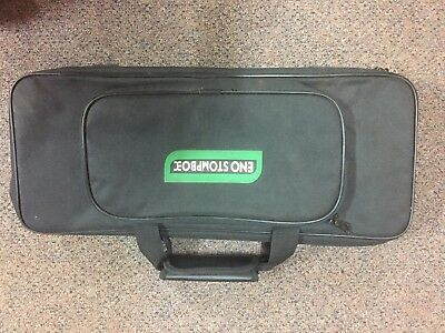 Eno Stompbox Guitar Effects Pedalboard In Soft Case