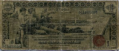 1896 $1 One Dollar United States Educational Series Silver Certificate FR. 224