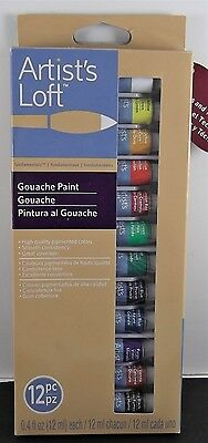 New-Artist Loft Fundamentals 12 Gouache Paint