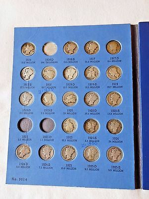 Mercury Head Dime Book Collection ~ EARLY Historic Silver Coins ~ Make OFFER!