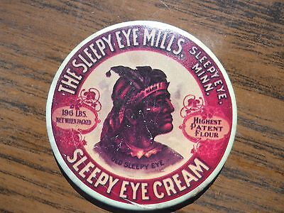 "Collectible Vintage Advertising Mirror ""Sleepy Eye Mills"" Sleepy Eye, Minnesota"
