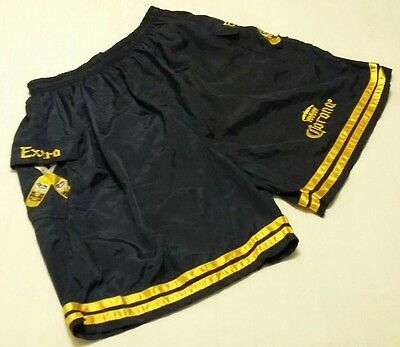 Men's Vintage Corona Extra Embroidered Swimming Trunks Shorts Size X-Large