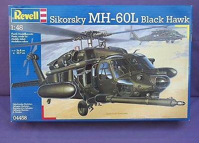 WOW! Revell Huge 1/48 Scale Sikorsky MH-60L Black Hawk Model Kit# 04458