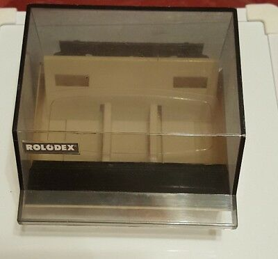 Rolodex S300C Petite Card File Box Covered Address Phone Dividers