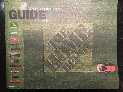 The Home Depot Power Equipment Guide 2001