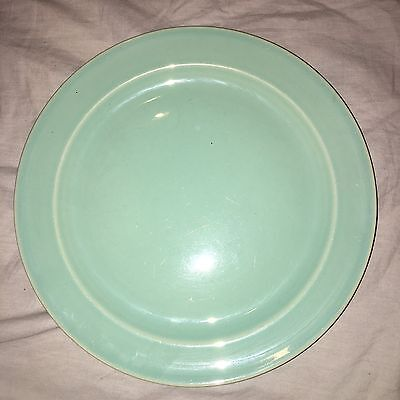 LU RAY Vintage Pastel Dinner Plate GREEN Solid 9 Inch