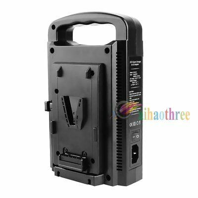 BP-2CH V-Lock V-mount Battery Charger Dual Slot Dual Channel Quick Charger【AU】
