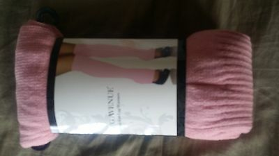 NWOT Ribbed Knit Leg Avenue Leg Warmers PINK one size
